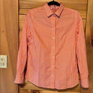 Robert Graham long sleeve  button up gingham shirt